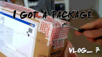 Permalink to: I Got a Package | Vlog 7